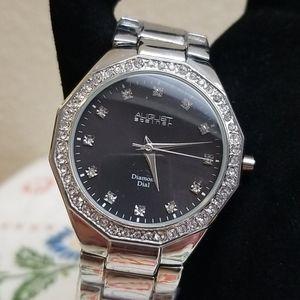 August Steiner Diamond Dial watch